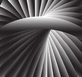 复古的径向光和地面背景 — 图库矢量图片