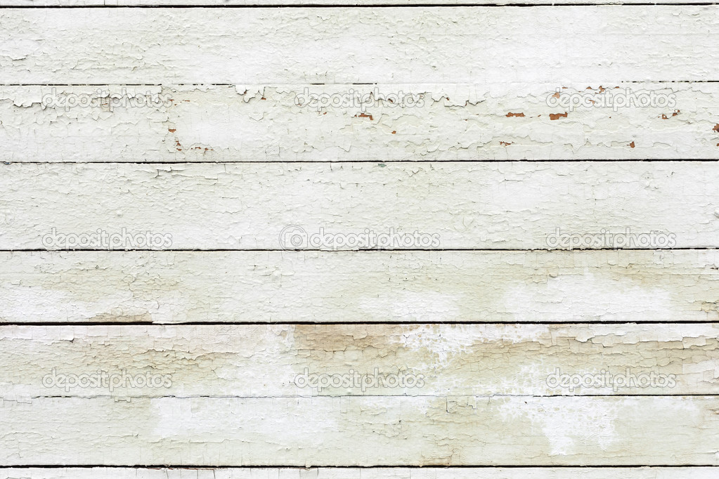 Vintage white background wood wall. It is a concept, conceptual or ...