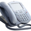 Stock Photo: Office IP telephone isolated