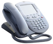Office IP telephone isolated — Stockfoto