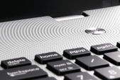 Laptop keyboard — Stock fotografie