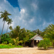 Stock Photo: Beach Bungalow