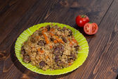 Central Asian cuisine — Stock Photo