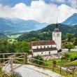 Old church in Gruyere, Switzerland — Stock Photo #15682003