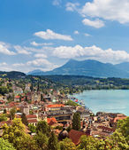 Cityscape of Lucerne, Switzerland — Stock Photo