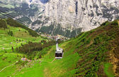 Cable Car in Swiss Alps — Stock Photo