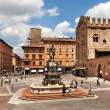 Stock Photo: Fountain of Neptune in Bologna. Italy.