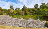 Garden in imperial palace, Kyoto, Japan — Stock Photo