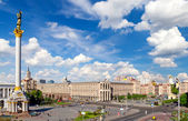 Central square of Kiev, Ukraine — Stock Photo