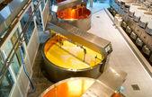 Dairy plant in Switzerland — Stock Photo