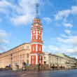 Nevsky Prospect in St.Petersburg, Russia — Stock Photo