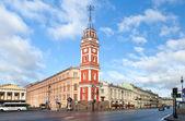 Nevsky Prospect in St.Petersburg, Russia — Stock Photo