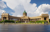 Kazan Cathedral in St.Petersburg, Russia — Stock Photo