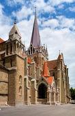 Collegial church of Neuchatel, Switzerland — Stock Photo