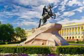 Monument to Peter I. — Stock Photo