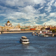 View of the center of Moscow from the bridge — Stock Photo