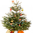 Isolated christmas tree — Stock Photo