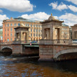 Stock Photo: Lomonosov Bridge