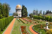Jardines Bahai en Haifa, Israel — Foto de Stock