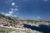 Ilha de symi na grécia — Fotografia Stock