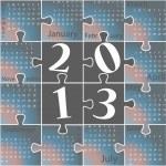 Calendar — Stock Vector #13939087