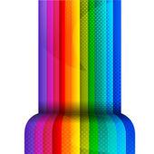 Rayas de colores — Vector de stock