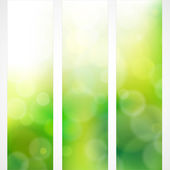 Spring green background colors with the sun — Stock Vector
