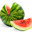 Isolated watermelon — Stock Photo