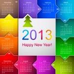 Calendar 2013 — Stock Vector #13634168