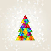 Christmas tree — Vector de stock