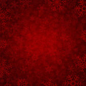 Red winter background — ストックベクタ