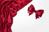 Red ribbon — Foto Stock