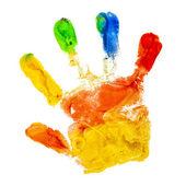 Contrassegnare coppie di mani — Foto Stock