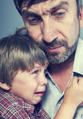 Père a compassion de ses fils — Photo