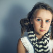 Image of young stylish girl — Stock Photo