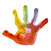 Mark pares de mãos — Foto Stock
