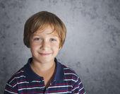Portrait of smiling boy — Stock Photo