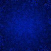Blue snow — Stockvektor