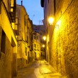 Stock Photo: Empty alleyways in Cuenca, Spain