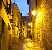 Empty alleyways in Cuenca, Spain — Stock Photo