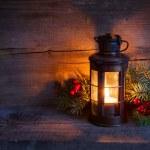 CRISTMAS lantaarn — Stockfoto