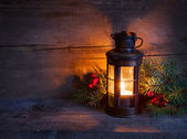 Cristmas lantern — Stock fotografie