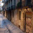 Empty alleyway in Barcelona. — Stock Photo #36252595