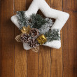 Christmas wreath — Stock Photo #36252703