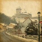 Castello di Karlstejn — Foto Stock