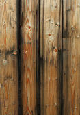 Wooden fence panels — Stock Photo