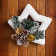 Christmas wreath — Stock Photo #36294345