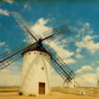 Medieval Windmills — Photo
