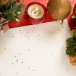 Christmas decorations. background with space for text or image. — Stock Photo