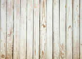 Old wooden board painted white. — Stock Photo